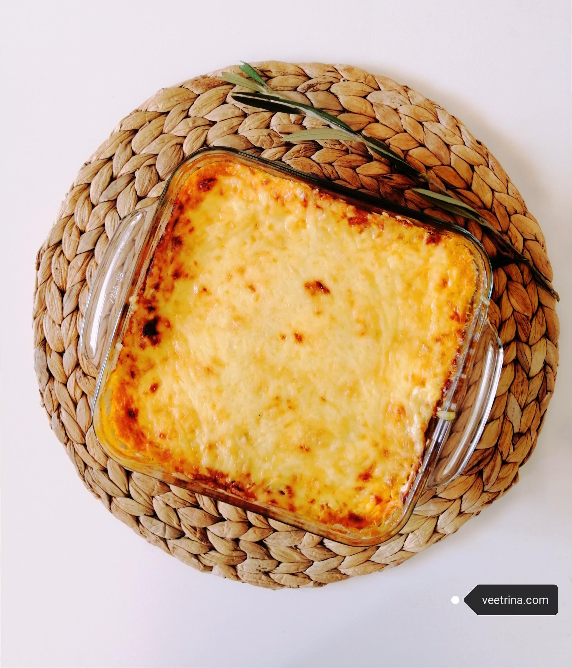 Lasagne od palačinki –  vege verzija