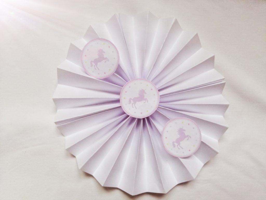 Lepezasti krug od papira za printanje