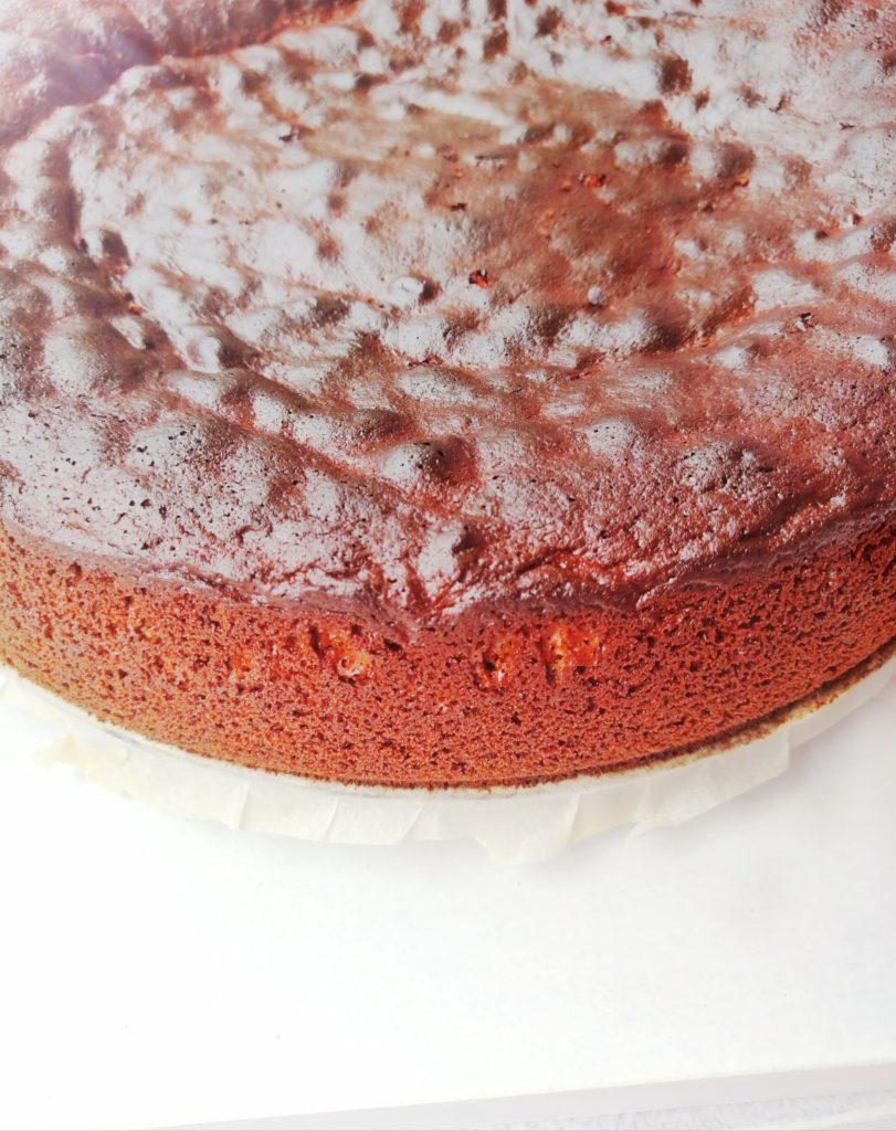 Biskvit za čokoladnu tortu od uskrsnih čokoladica