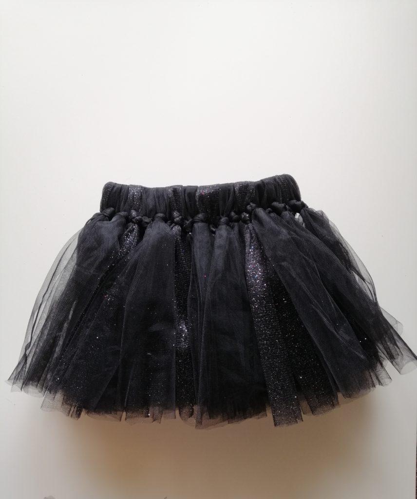 Gotova suknja od tila bez šivanja