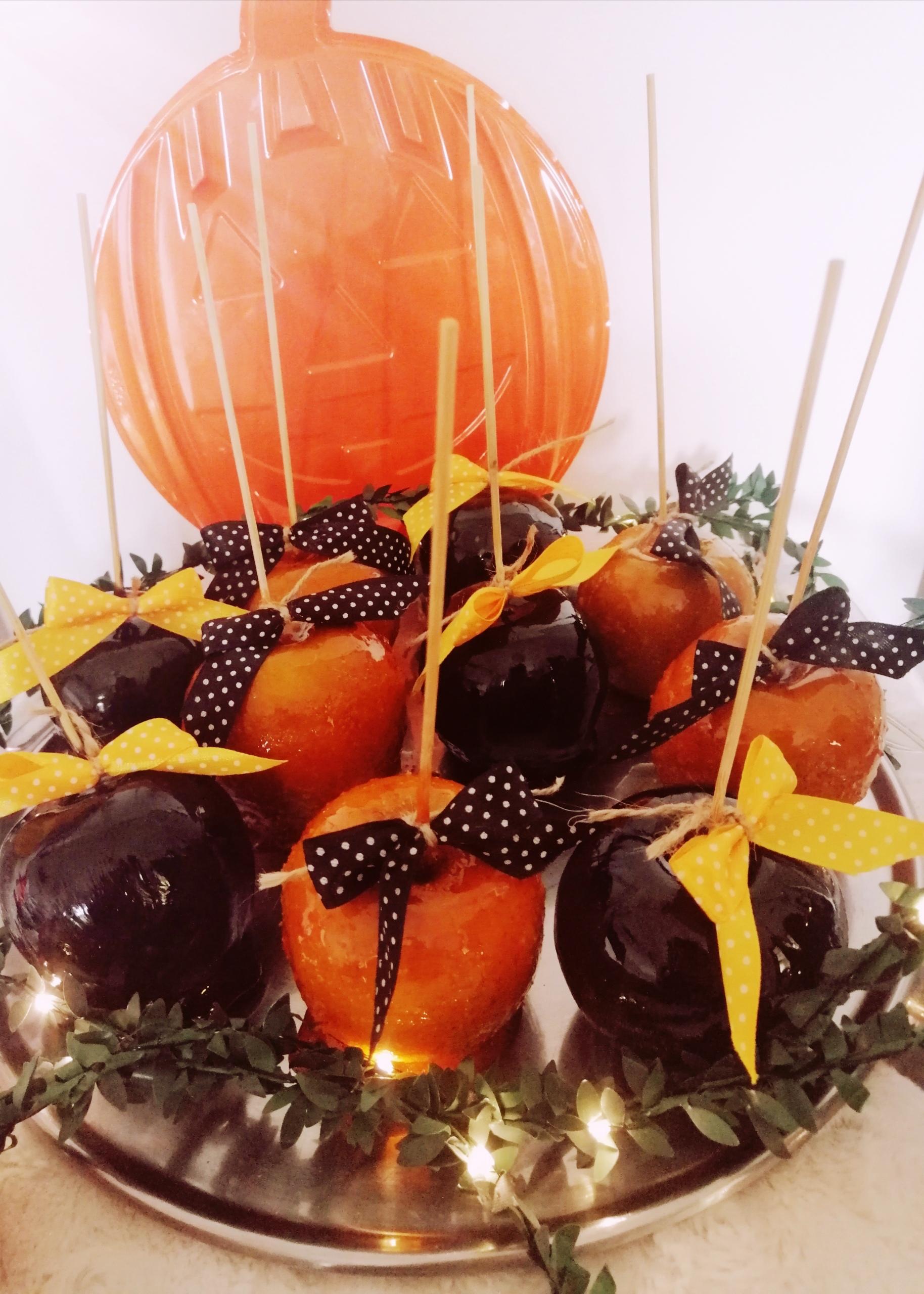Glazirane jabuke – halloween izdanje