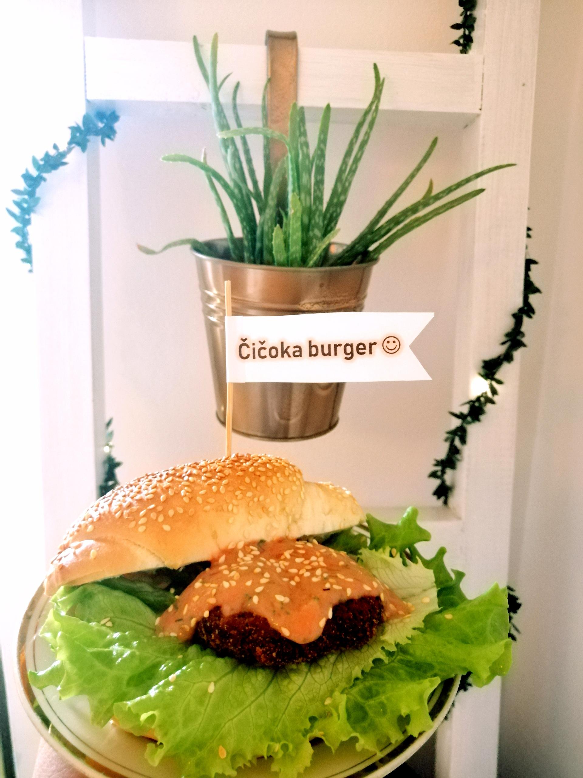 Čičoka burger da se čič(v)ok(n)e(š) od sreće