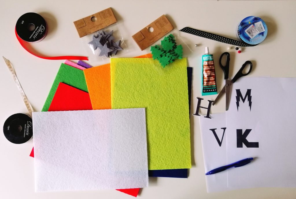 Materijal za izradu diy bookmarks