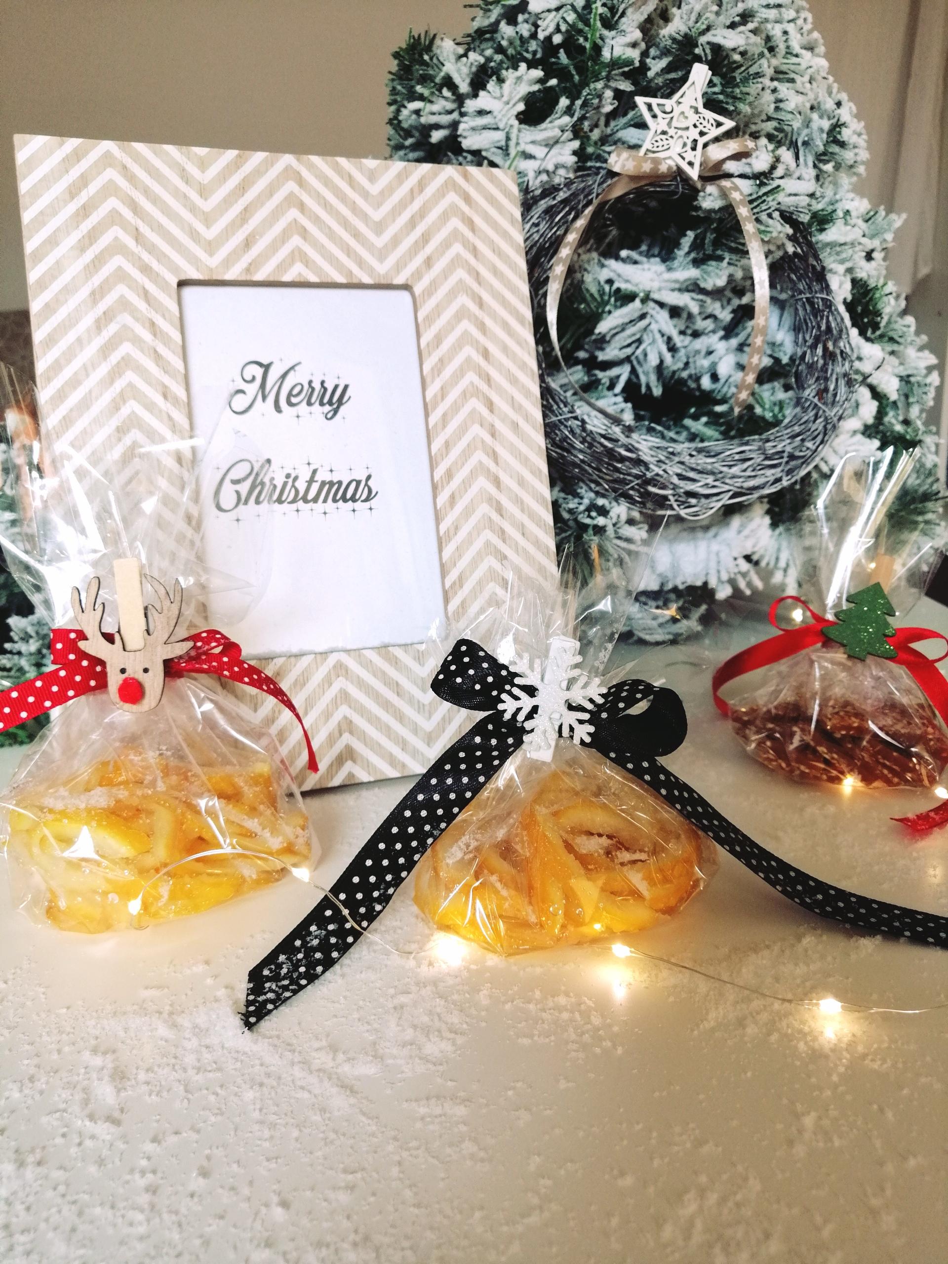 Arancini i krokant sa sezamom kao darovi za Božić