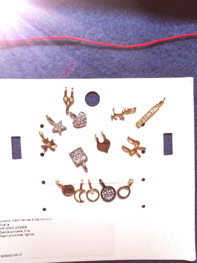 Privjesci za ogrlicu iz H&M