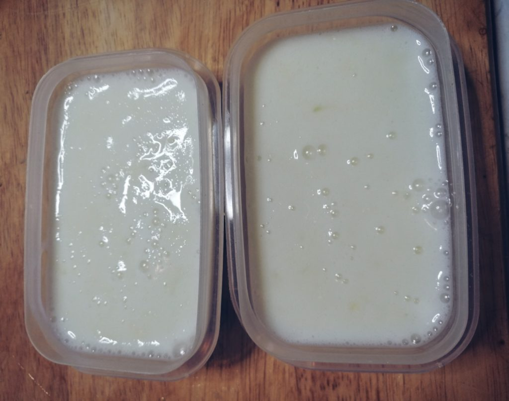 Sladoled od limete, šećera i grčkog jogurta