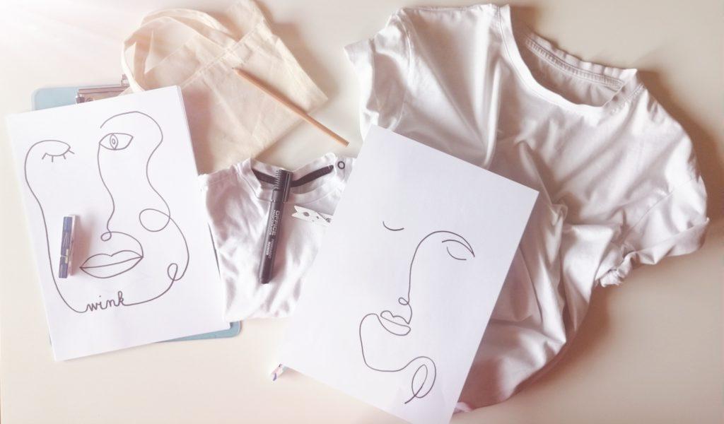 Oprema za izradu one line majici i torbe