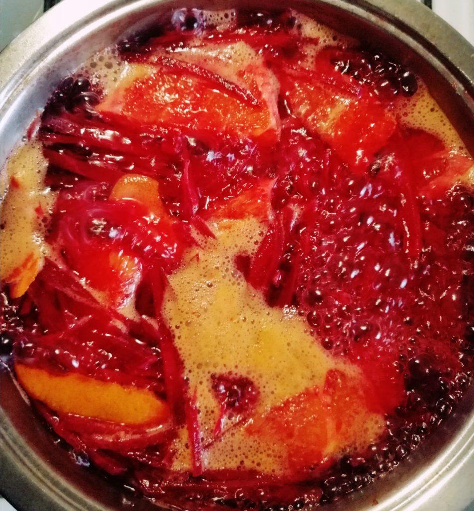 kuhanje cikle sa narančom