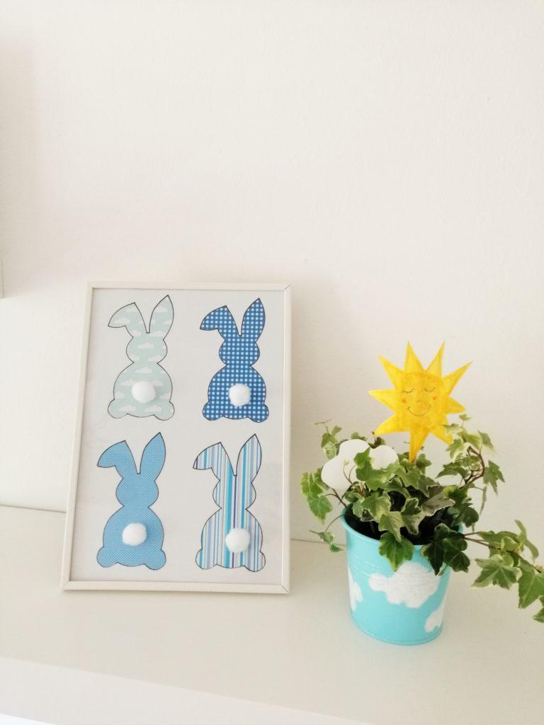 Plavi zečevi sa pomponima