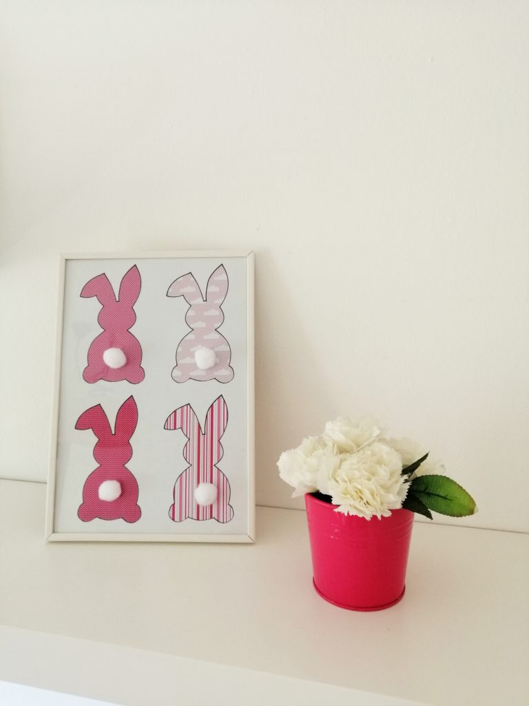 Rozi zečevi sa pomponima