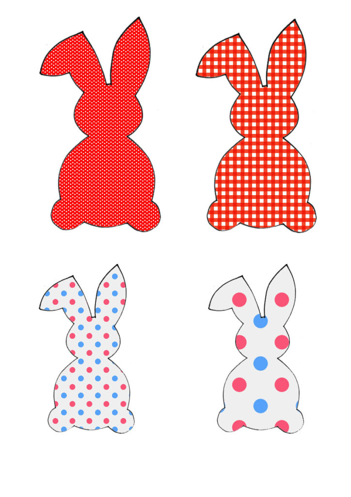 Crveno-plava obitelj zečeva