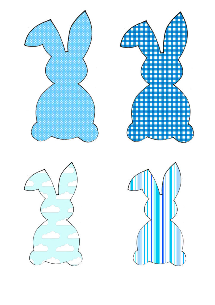 Plava obitelj zečeva