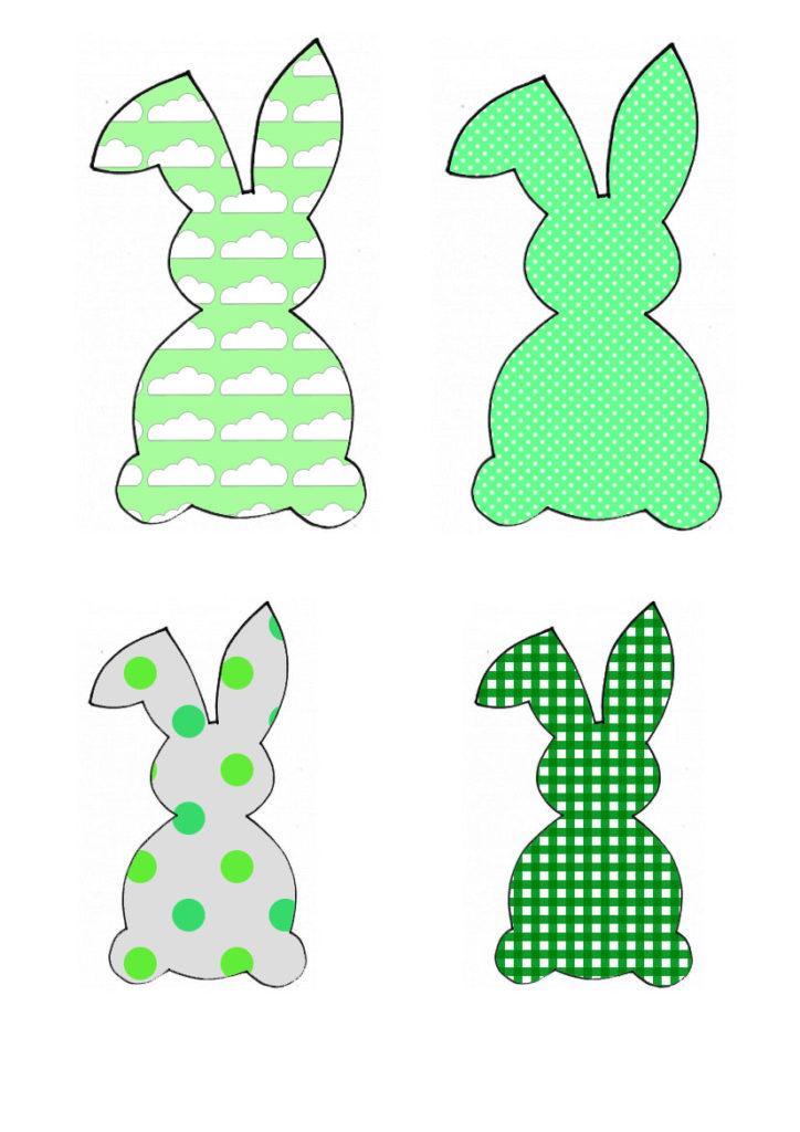 Zelena obitelj zečeva