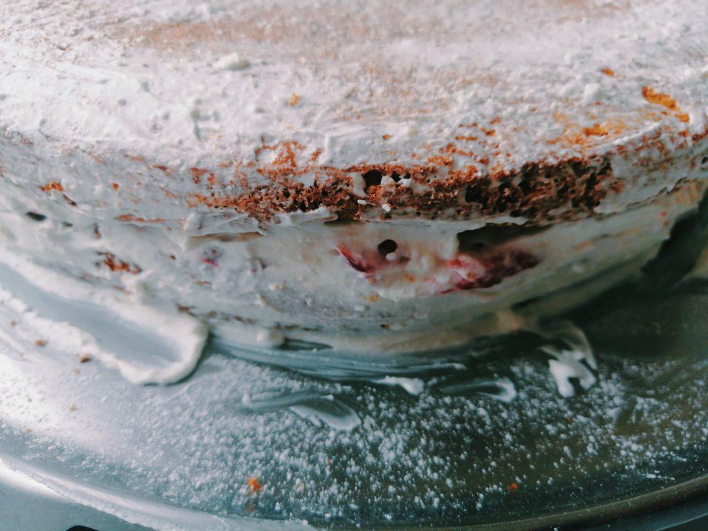 Torta je spremna za hlađenje