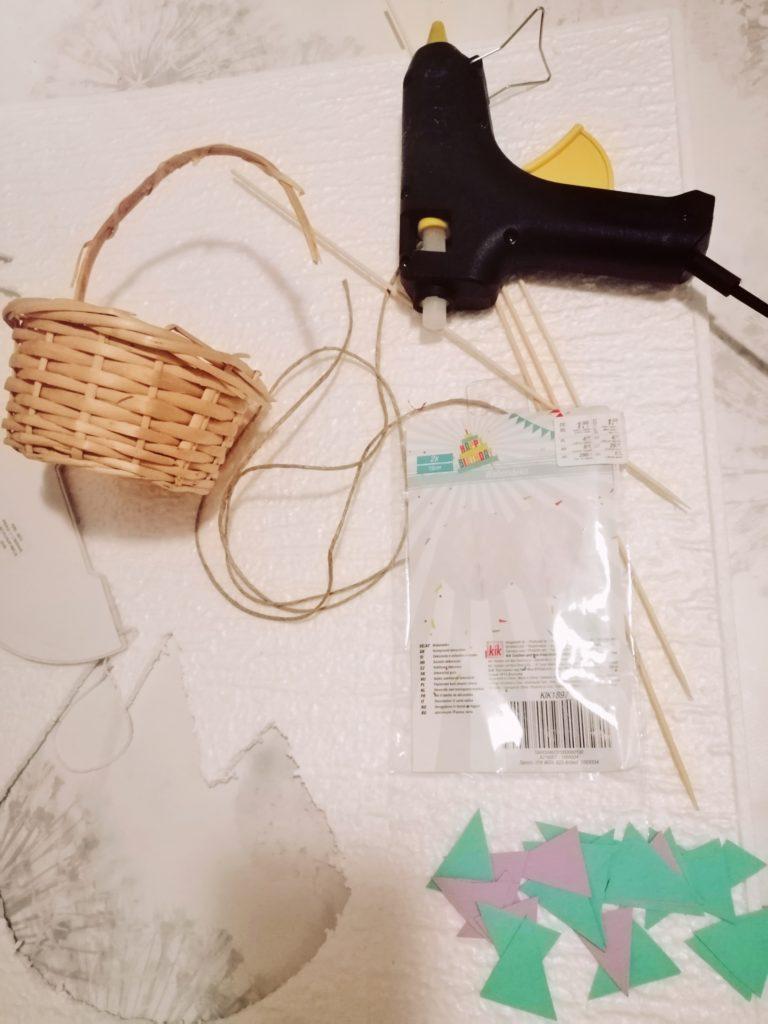 Izrada balona od honeycomb papira