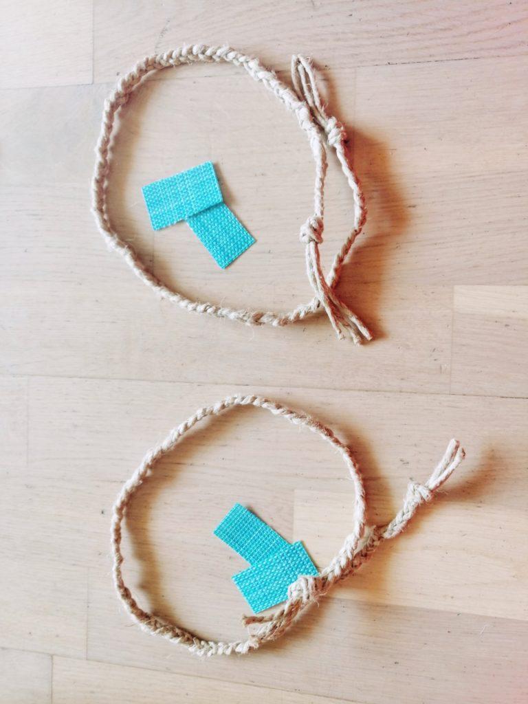 Izrada drški okrugle torbe od podmetača