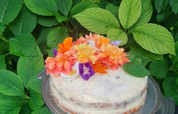 Helenina torta od mrkve, mandarina i kokosa