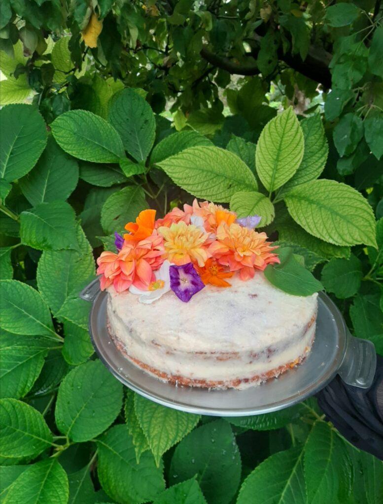 Torta od mrkve, mandarina i kokosa